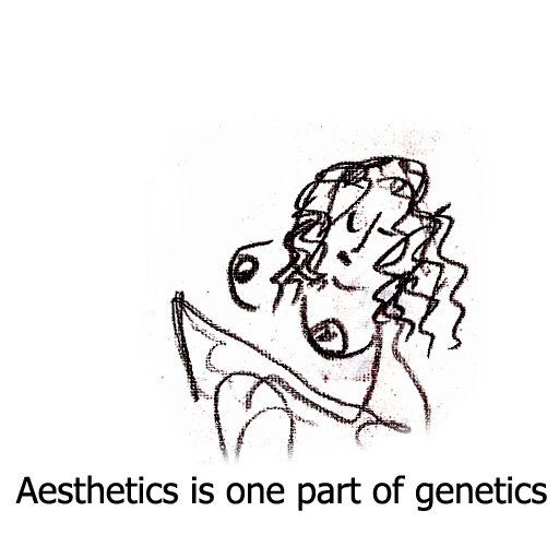 art genes of aesthetics and beauty