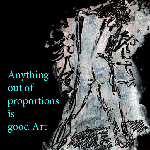 proportion in art. proportion for good art