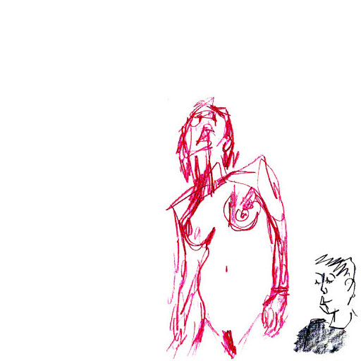 La grande odalisque figure drawing